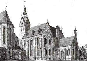 The original Pugin designed convent in Bermondsey